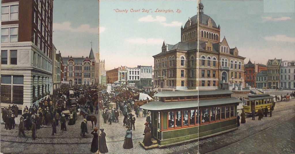 illustration color tramway lexington